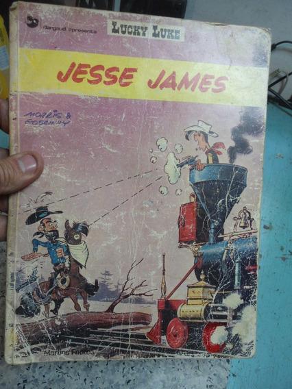 Quadrinhos Lucky Luke - Jesse James