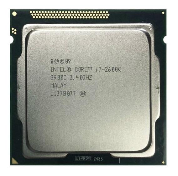 Processador Intel Core I7 2600k Lga1155 3.40 - 3.80ghz 8mb
