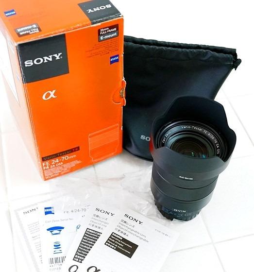 Lente Sony Vario-tessar T * Fe 24-70 Mm F / 4 Za Oss