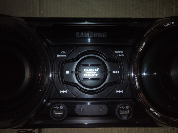 Frontal Completo Mini System Samsung Mx-fs8000