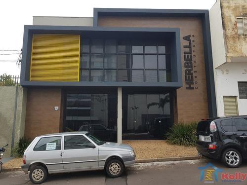 Prédio Com 1 Dormitórios À Venda - Vila Industrial, Presidente Prudente/sp - 1673