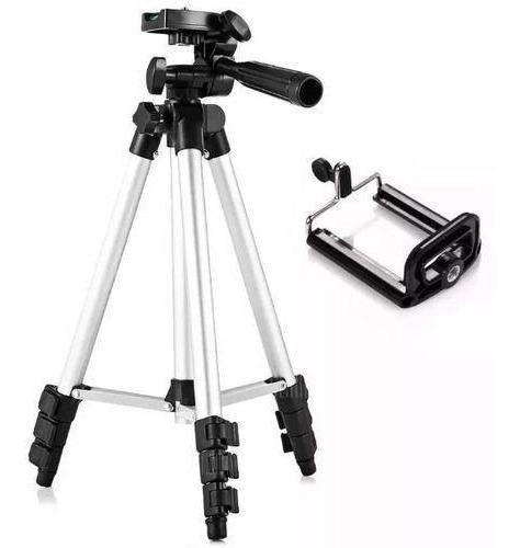 Imagem 1 de 6 de Tripé Ajustável P/ Câmeras Ou Celulares Inova 120cm Spo-8193