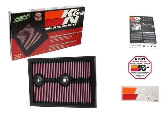 Filtro De Ar K&n Inbox T-cross 1.4 Tsi Golf A3 1.4t 33-3004