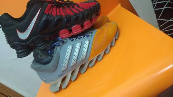 adidas Springblad E Nike 12 Molas