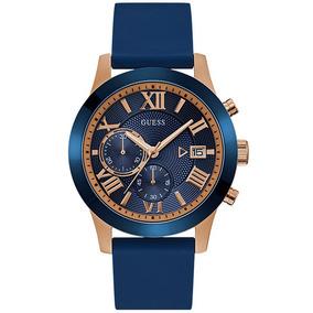 Relógio Guess Masculino Rosê/azul 92722gpgdru2