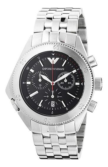 Relógio Emporio Armani Ar0546 Sportivo Inox