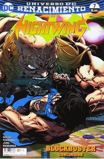 Ecc España - Nightwing #7 (de 13) - Dc Renacimiento - Nuevo