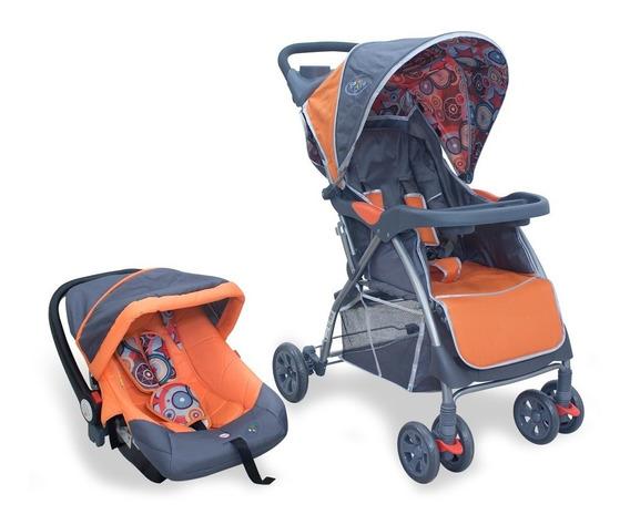 Kit Carrinho E Bebê Conforto Smart Baby Style Travel System