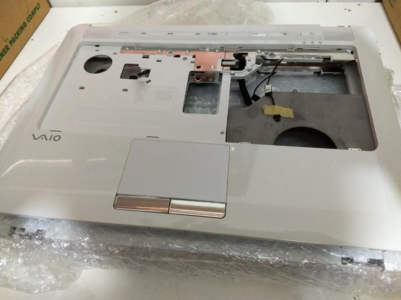 Carcaça Touch Pad- Notebook Sony Vaio Série Cs - Branco