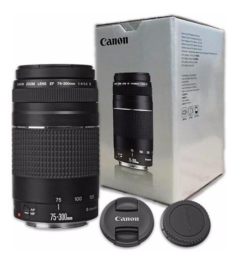 Lente Canon Ef 75-300mm F/4-5.6 Iii