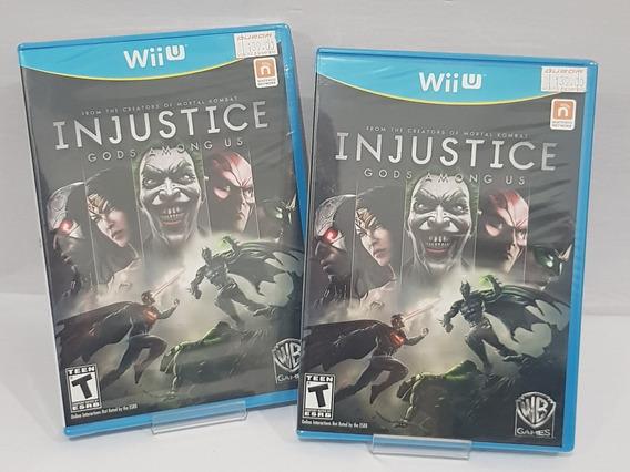 Injustice Gods Amongus Wii U