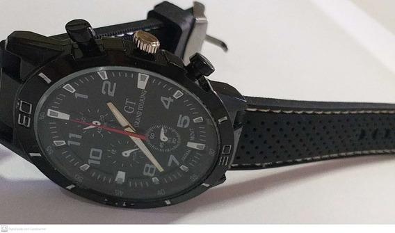Relógio Masculino Quartzo Na Caixa Com Garantia + Brinde
