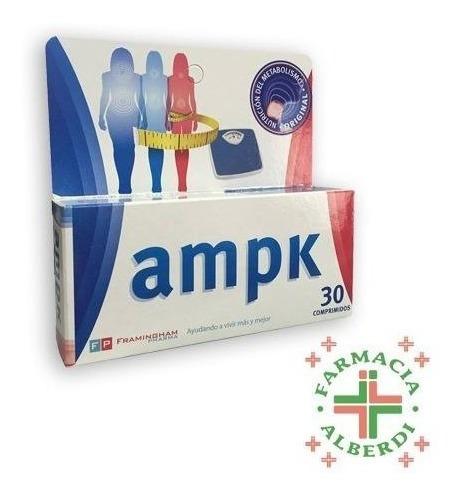 Ampk X 30 Comprimidos - Disminuye La Sensación De Hambre