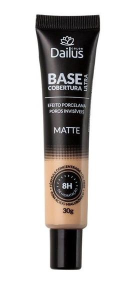 Base Dailus Matte Ultra Cobertura Bege Claro 04