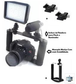 Suporte Para Camera Dslr Canon Nikon Sony Pentax Gtek Cage