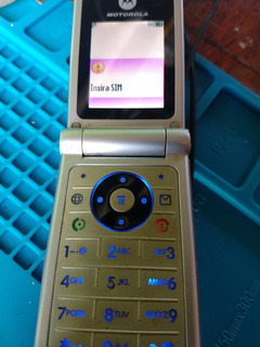 Celular Motorola Mod W375 Sem Tampa Traseira Operadora Claro