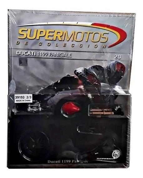 Supermotos De Colección N°20 Ducati 1199 Panigale, Parte 2/3