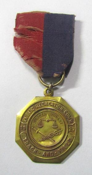 Usa 1927 Medalla De Atletismo Universidad De Cincinnati