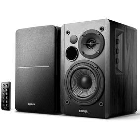 Monitor De Áudio R1280db Preta Edifier 42w Rms - Bivolt