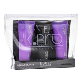 K-pro Ritual De Caviar Kit - Shampoo + Resconstrutor + Condi