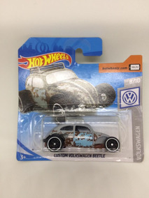 Hot Wheels Volkswagen Beetle Custom Vw Fusca Rot Rod - Cinza