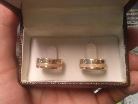 Aliança Ouro 18 K Casamento E Noivado