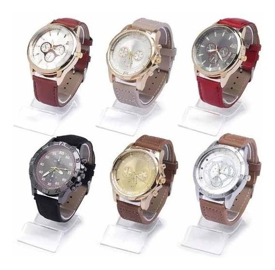 Kit 30 Relógios Masculino + 15 Relógios Femininos +caixa+bat