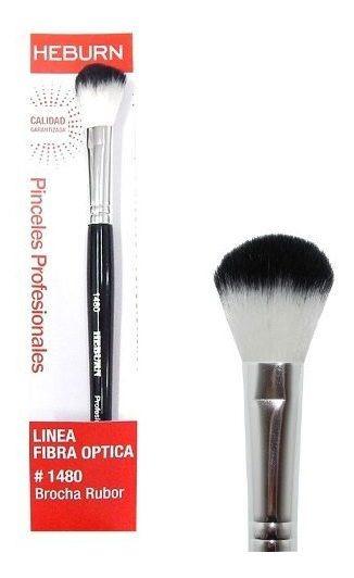 Heburn Brocha Rubor Fibra Óptica Maquillaje Cod 1480