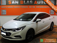 Sba Anticipo! Chevrolet Cruze Ltz 2017 Automatico 4p 1.4 T N