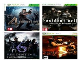 Combo Resident Evil Xbox360 Midia Digital