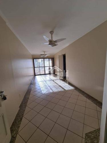 Apartamento Com 3 Dormitórios Para Alugar, 72 M² Por R$ 1.000,00/mês - Vila Seixas - Ribeirão Preto/sp - Ap4221
