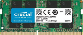 Memoria Notebook 16gb Ddr4 2400mhz Crucial Ct16g4sfd824a