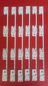 Kit Barras De Led Semp Toshiba 40l2400 Kdl39ss662u Original!