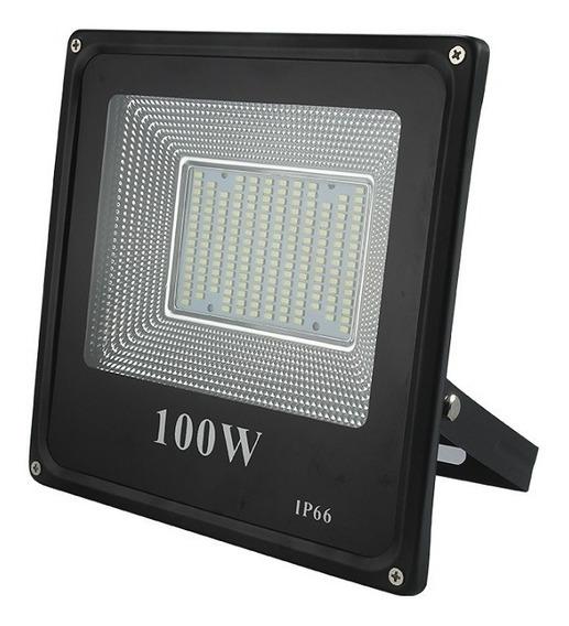Refletor Led Holofote Verde Original 100w Pronta Entrega