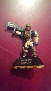 Mega Construx Sargento Johnson Serie Heroes 5