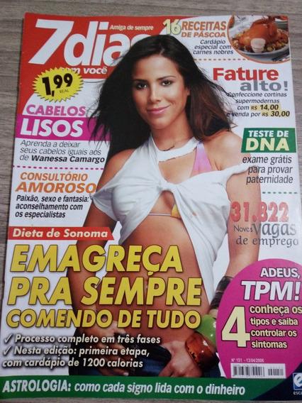 Revista 7 Dias 151 - Wanessa - Sandy E Junior