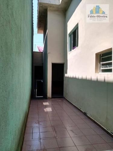 Sobrado Com 3 Dormitórios À Venda, 142 M² Por R$ 400.000 - Vila Linda - Santo André/sp - So0475