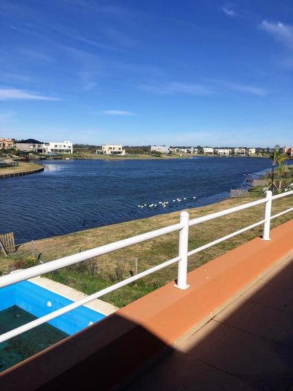 Alquiler Casa Al Lago En Vistas/puertos Con Pileta