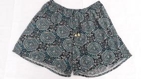 Kit 2 Shorts Feminino Plus Size Estampado Roupa Verão Barato