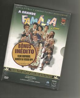 A Grande Família O Filme Dvd Duplo Digipak - Lacrado