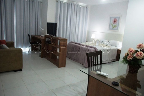 Flat Fora Do Pool, Verano Stay , Para Morar Ou Investir - Sf25798