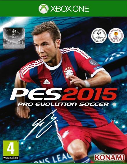 Jogo Pro Evolution Soccer Pes 2015 - Mídia Física Xbox One