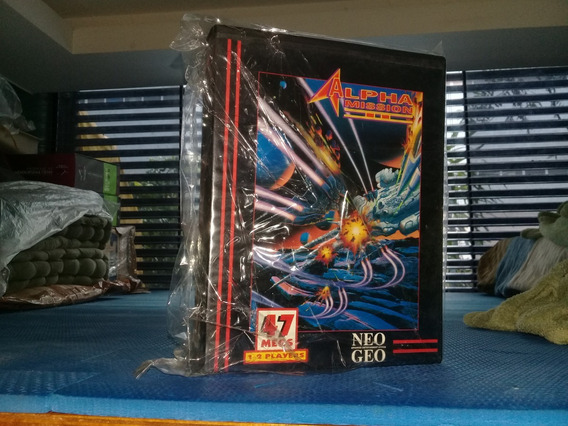 Alpha Mission 2 Neo Geo Aes.