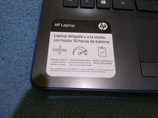 Laptop Hp Con 8g De Memoria Ram,y 16 De Memoria Interna.