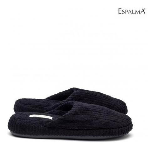 Pantuflas Slipper Top 36/37 Negra Espalma