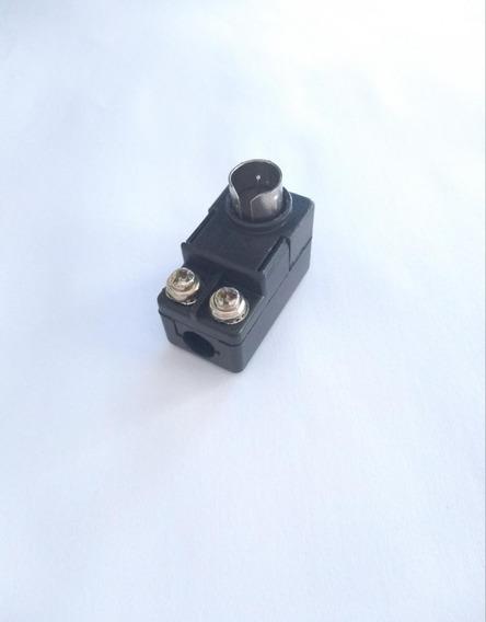 Balum Cachimbo Adaptador Conector Antena 75/300r P/75r-100pç