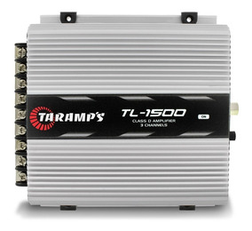 Módulo Amplificador Taramps Tl 1500 Class D 3 Canais 2 Ohms