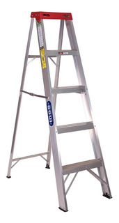 Escalera Tijera Aluminio Doméstica 5