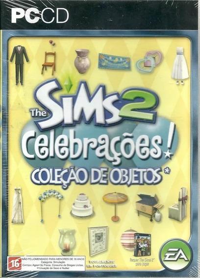 The Sims 2 Celebraçoes Coleçao De Objetos Pc Lacrado