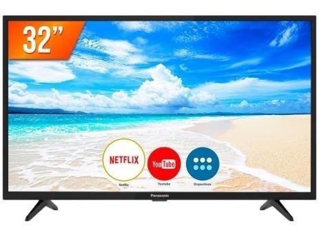 Smart Tv Led Hd 32 Panasonic Tc-32fs500b Netflix Youtube Usb